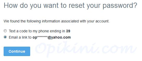 Cara Reset Password Akun Twitter Yang Lupa