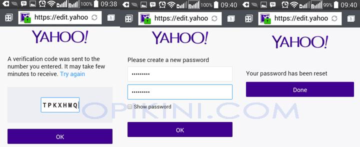 3 Cara Mengganti dan Reset Password Yahoo Mail Yang Lupa