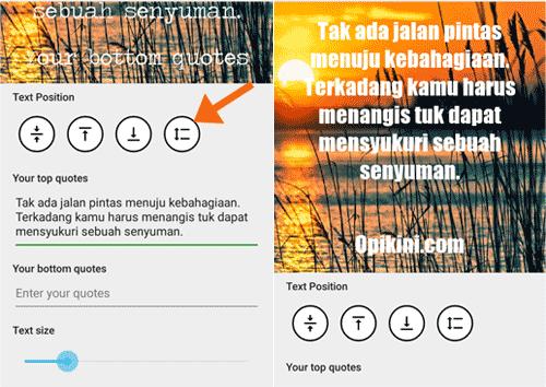 Cara Menggunakan Quote Generator Free – Android