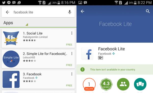 Download Facebook Lite Android - Solusi Buka Facebook Untuk Koneksi Lemot