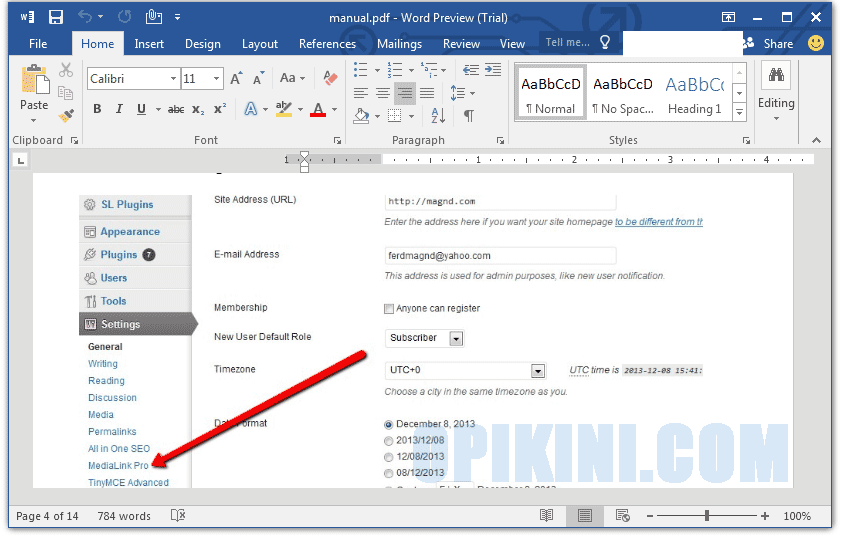 how to change word file to pdf