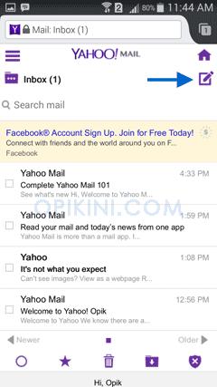 Panduan Lengkap Cara Kirim Email Yahoo di Android