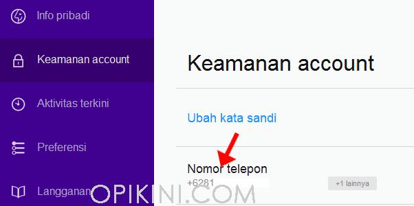 Cara Mengganti Nomor Telepon Hp Di Yahoo Mail