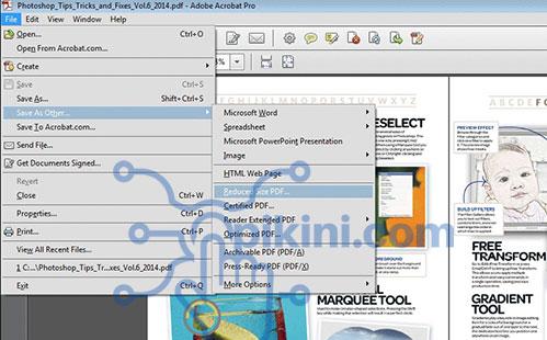 Kumpulan Cara Memperkecil Ukuran File PDF Online dan Offline