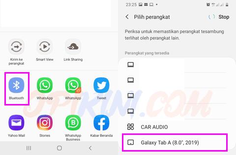 Cara Mengirim Aplikasi (Apk) Android Lewat Bluetooth