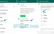 Cara Backup Dan Restore Percakapan WhatsApp Dengan Google Drive