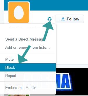 Begini Cara Blok Akun Twitter Yang Menganggu
