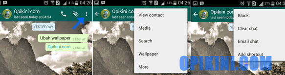 Cara Mudah Memblokir Kontak di WhatsApp Android