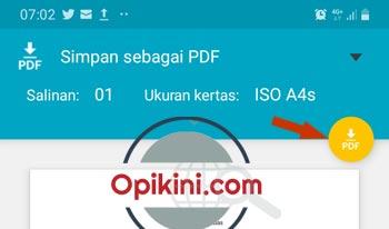 Simpan sebagai PDF