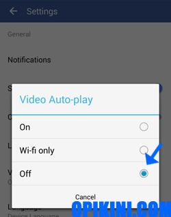 Panduan Cara Nonaktifkan Video Otomatis Diputar Facebook di Android
