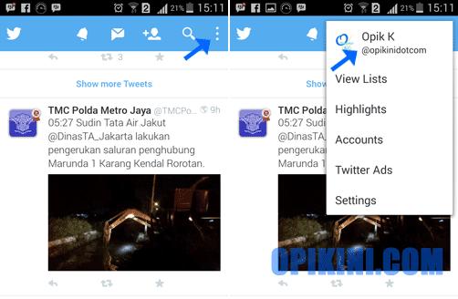 Panduan Mengganti Nama dan Foto Profil Twitter di Android