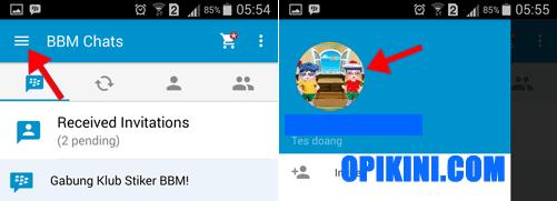 Panduan Cara Menghapus Status di BB Android Baru