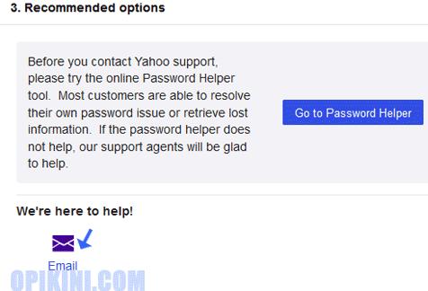 Mengatasi Lupa Password Yahoo Dan No Hp Sudah Ganti Atau Tidak Aktif