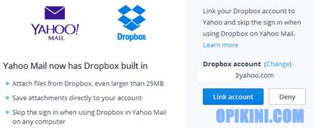 Cara Kirim File Besar Lewat Yahoo Mail dan DropBox