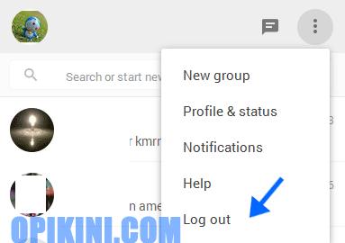 Bagaimana Cara Keluar atau Log Out WhatsApp Web?