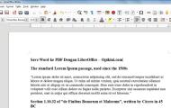 Mudahnya Export atau Convert Word ke PDF Dengan LlibreOffice