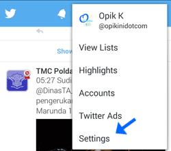 Cara Mengganti Sandi Atau Password Twitter di HP Android