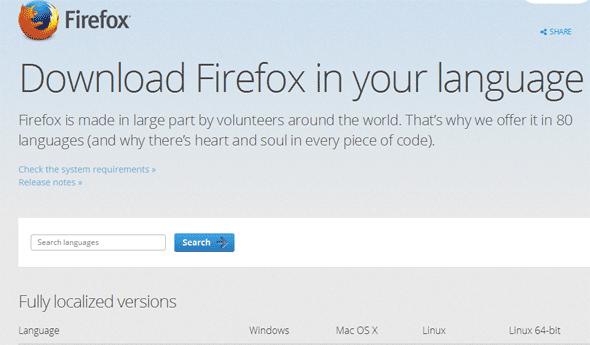 Firefox For Mac Update