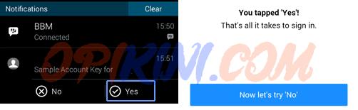Petunjuk Cara Mengaktifkan Yahoo Account Key di Android