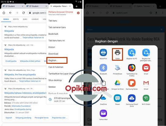 Print Halaman Web Sebagai PDF di Android Dengan Google Chrome