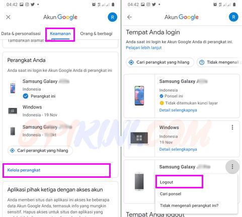 Bagaimana Cara Menghapus Akun Google Play di Perangakat Lain?