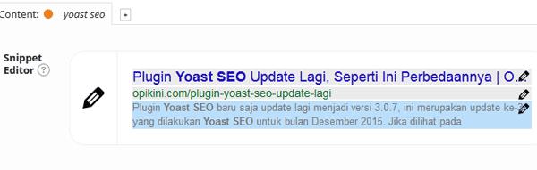 Plugin Yoast SEO Update Lagi, Seperti Ini Perbedaannya