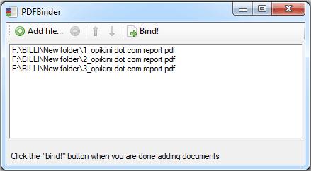 Cara Menggunakan PDFBinder