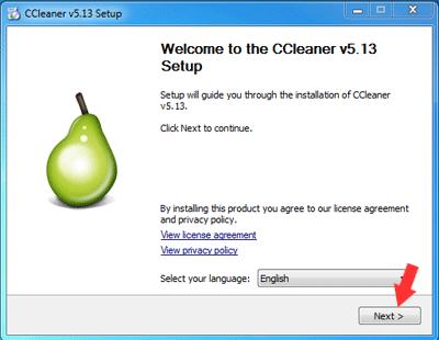 Cara Install CCleaner di Windows 7