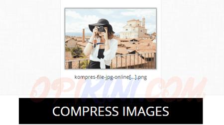 Kurangi Ukuran File Gambar (JPG, PNG, GIF) Tanpa Mengurangi Kualitas
