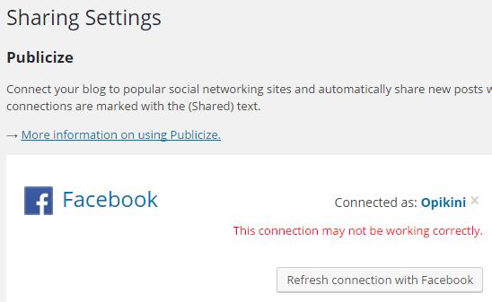 Beginilah Cara Mengatasi Error Jetpack Tidak Terhubung Ke Facebook