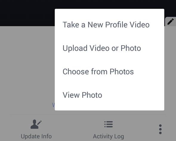 Cara Membuat Profil Video Bergerak di Facebook (Android)