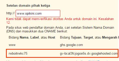 Mudahnya Mengubah Blogspot Ke Domain Sendiri