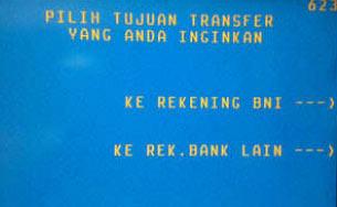 Ke Rek Bank Lain