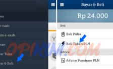 Cara Membeli Token PLN Lewat Mandiri E-cash