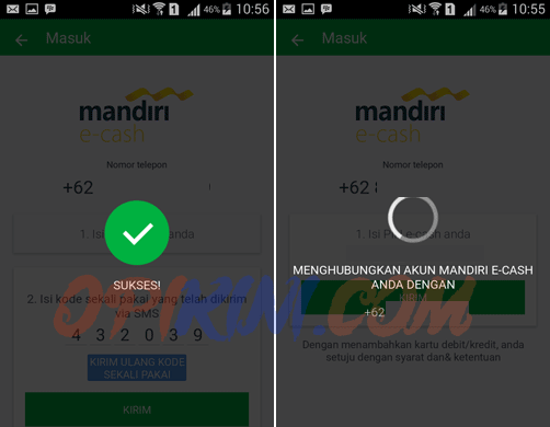 Menambahkan Mandiri E-Cash Pada Aplikasi Grab