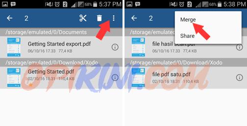 Panduan Menggabung PDF di Android