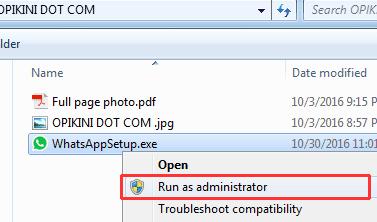 Cara Mudah Install Aplikasi WhatsApp di PC (Windows 7)