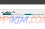 Contoh Manfaat Grup Kontak di Gmail