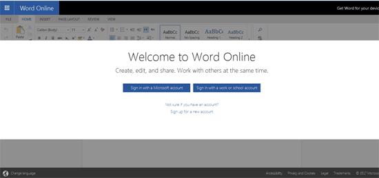 Cara Membuat MS Word Tanpa Install Office - Online