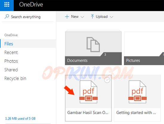Cara Mengedit File PDF Online Dengan Microsoft Word Online