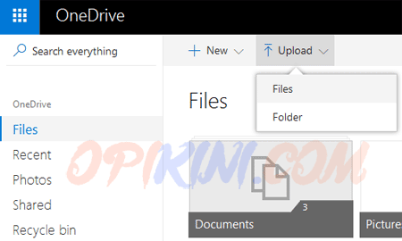 Upload file pdf