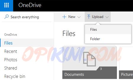 Upload file pdf