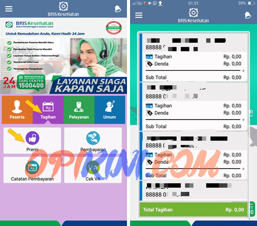 Cara Mengecek Tagihan BPJS Lewat HP Android