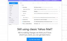 Tampilan Yahoo Mail Baru