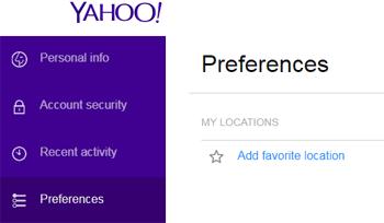 Pengaturan Bahasa Pada Email Yahoo