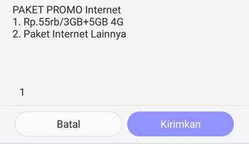 Pengalaman Daftar Paket PROMO Telkomsel 3GB + 4GB 55Ribu
