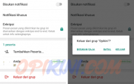 Menghapus Grup WhatsApp