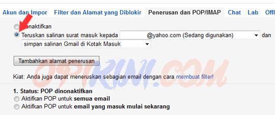 Cara Meneruskan Email Gmail Otomatis Ke Alamat Lain