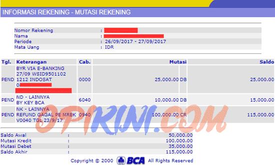 Rekening Tahapan Xpresi BCA