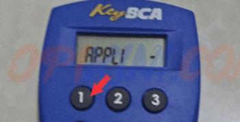 Menggunakan KeyBCA Pertama Kali (Buat PIN)
